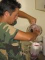 Preparazione mosto campione
